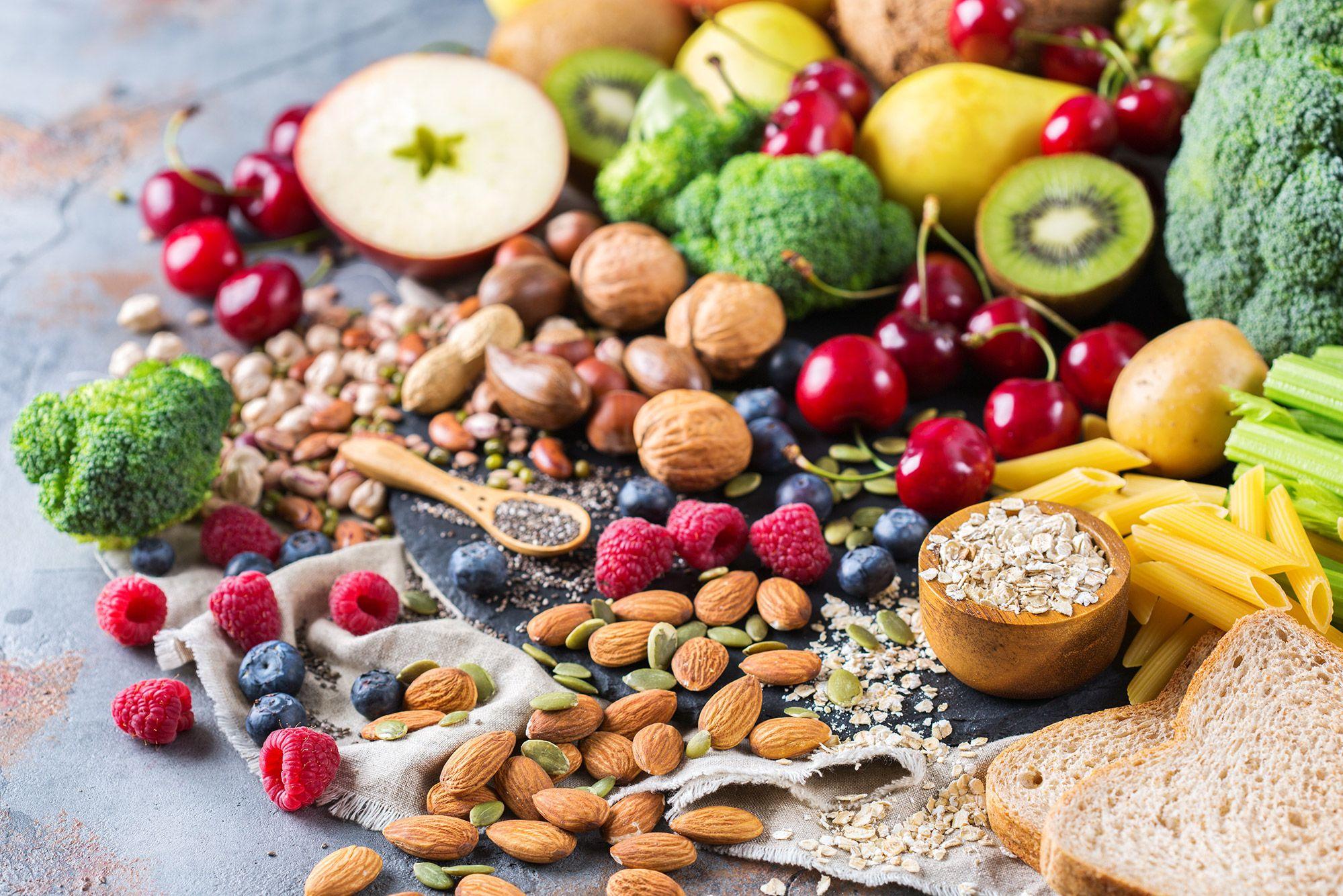 Vlaknine, prebava, hrana, bogata z vlakninami, vlaknine v hrani