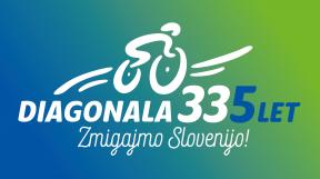 Diagonala335 Logo 5let Slogan Neg