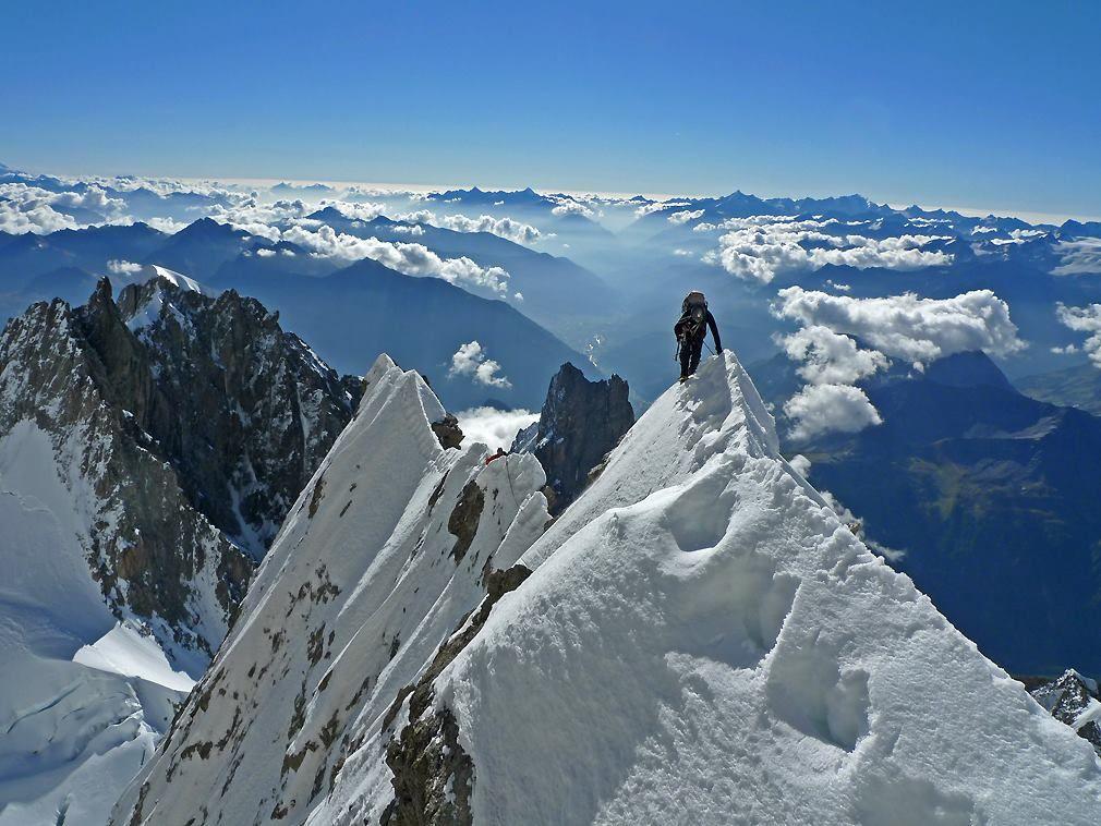 Andrej Štremfelj, gore, vrhovi