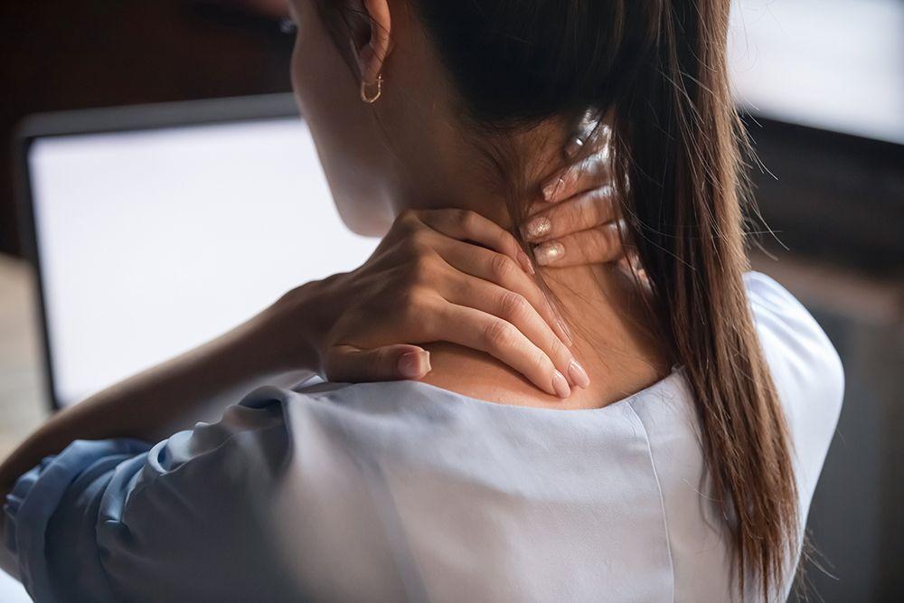 bolečine v hrbtu, bolečine v vratu, segrevanje