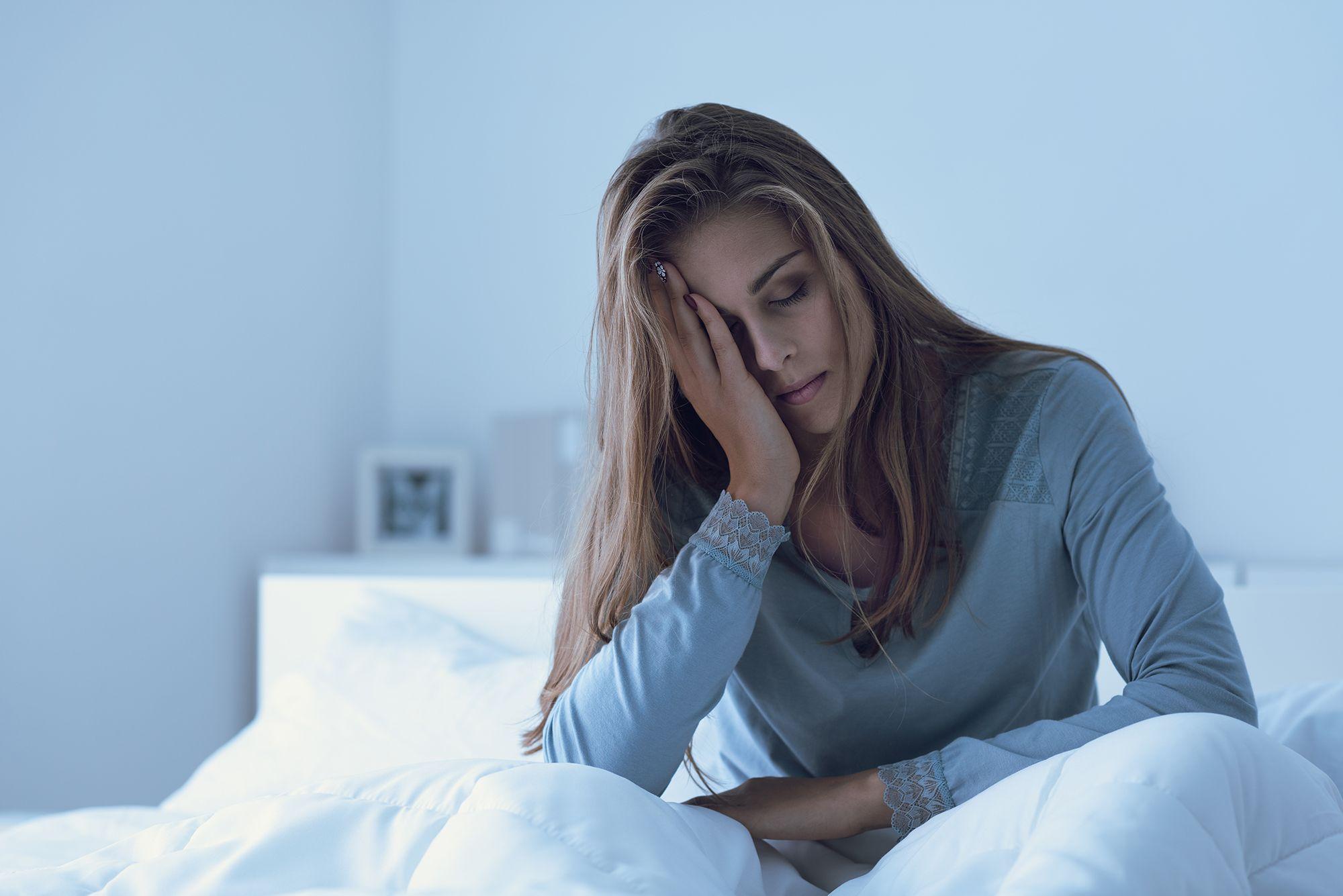 Če ne morete spati, to močno vpliva na vaše splošno počutje.