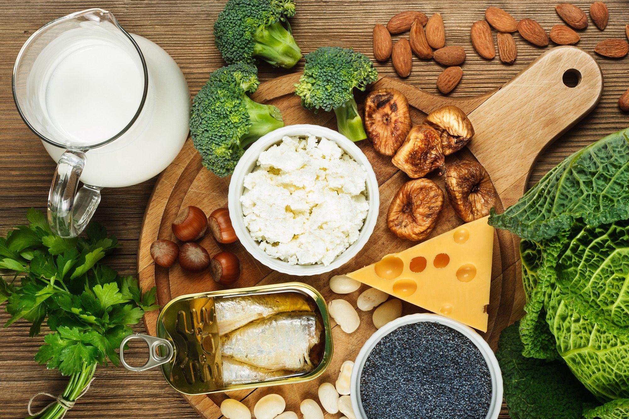kalcij, prehrana, zdrave kosti, zdravi sklepi