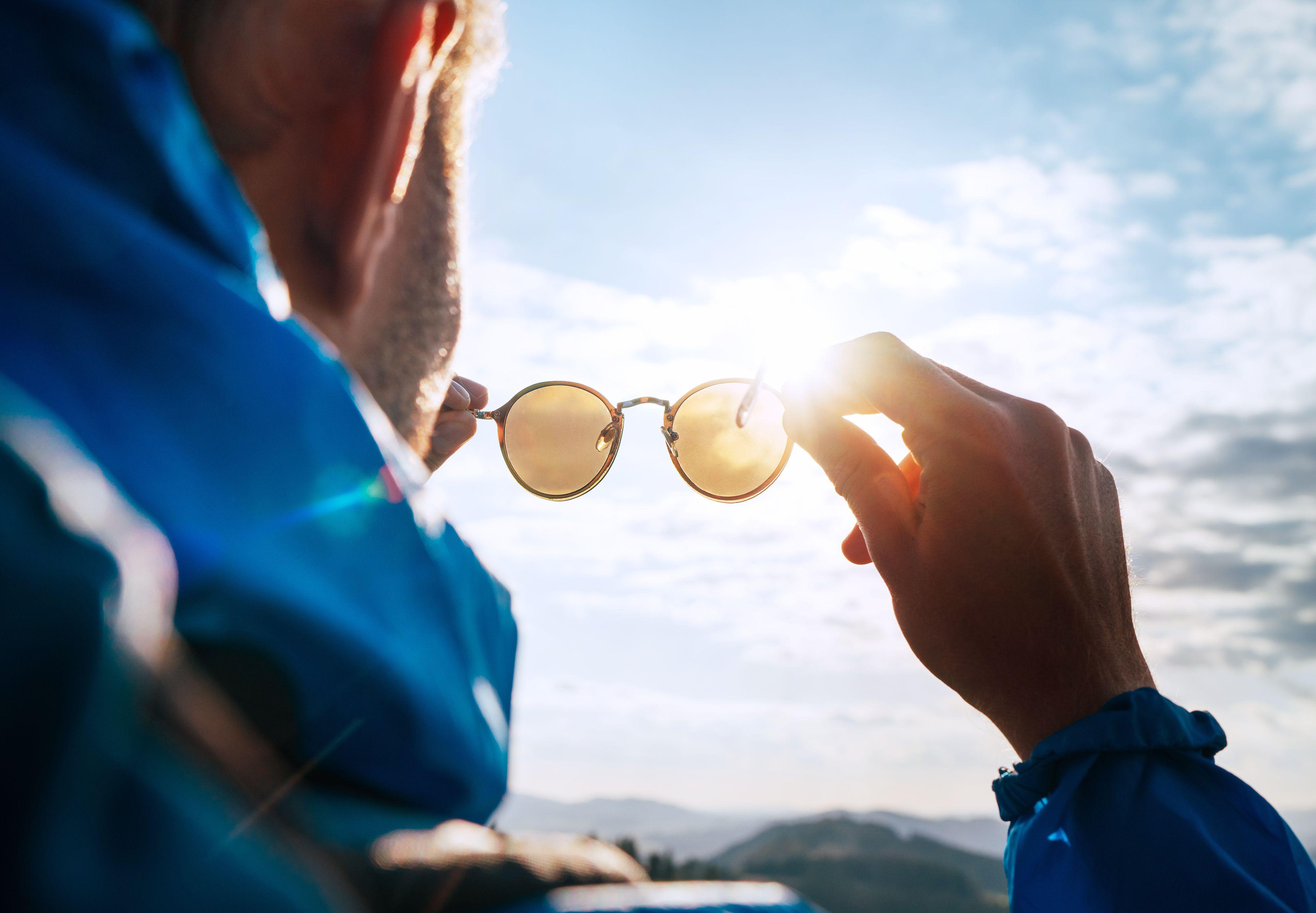 Sončna očala in UV žarki.